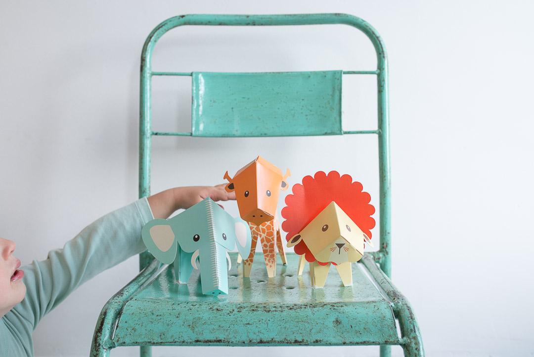 Eniito Nordic Scandinavian Design Papermals Toy