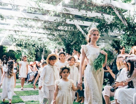 Bon point SS17 fashion show Paris children's wear
