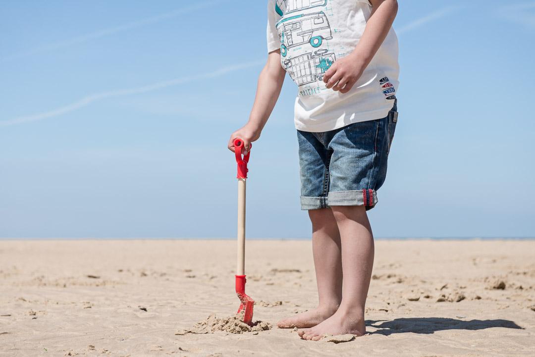fatface norfolk little boy on the beach
