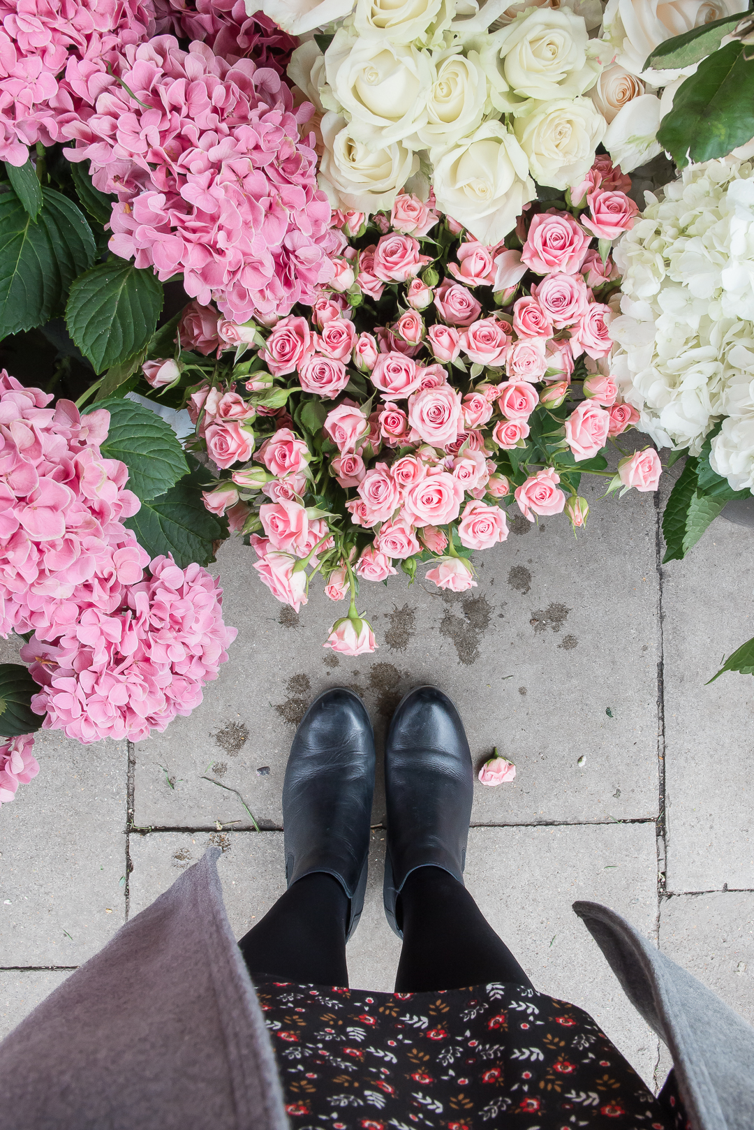 marks and spencer autumn winter boots flower stall