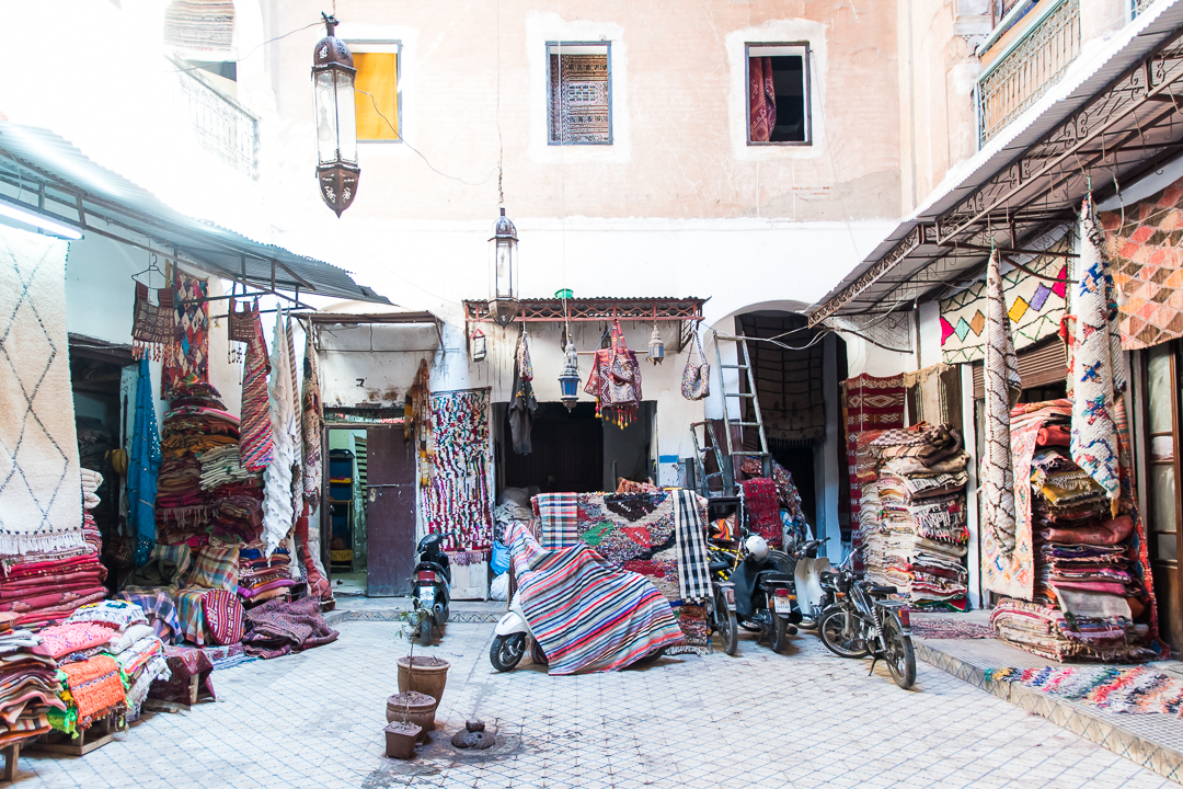 traders caravan, marrakesh