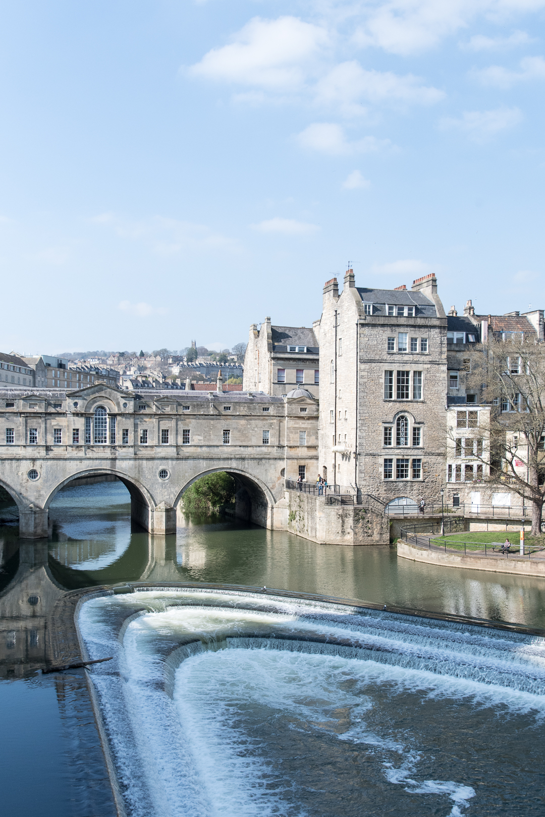 The beautiful Pulteney Bridge, Bath