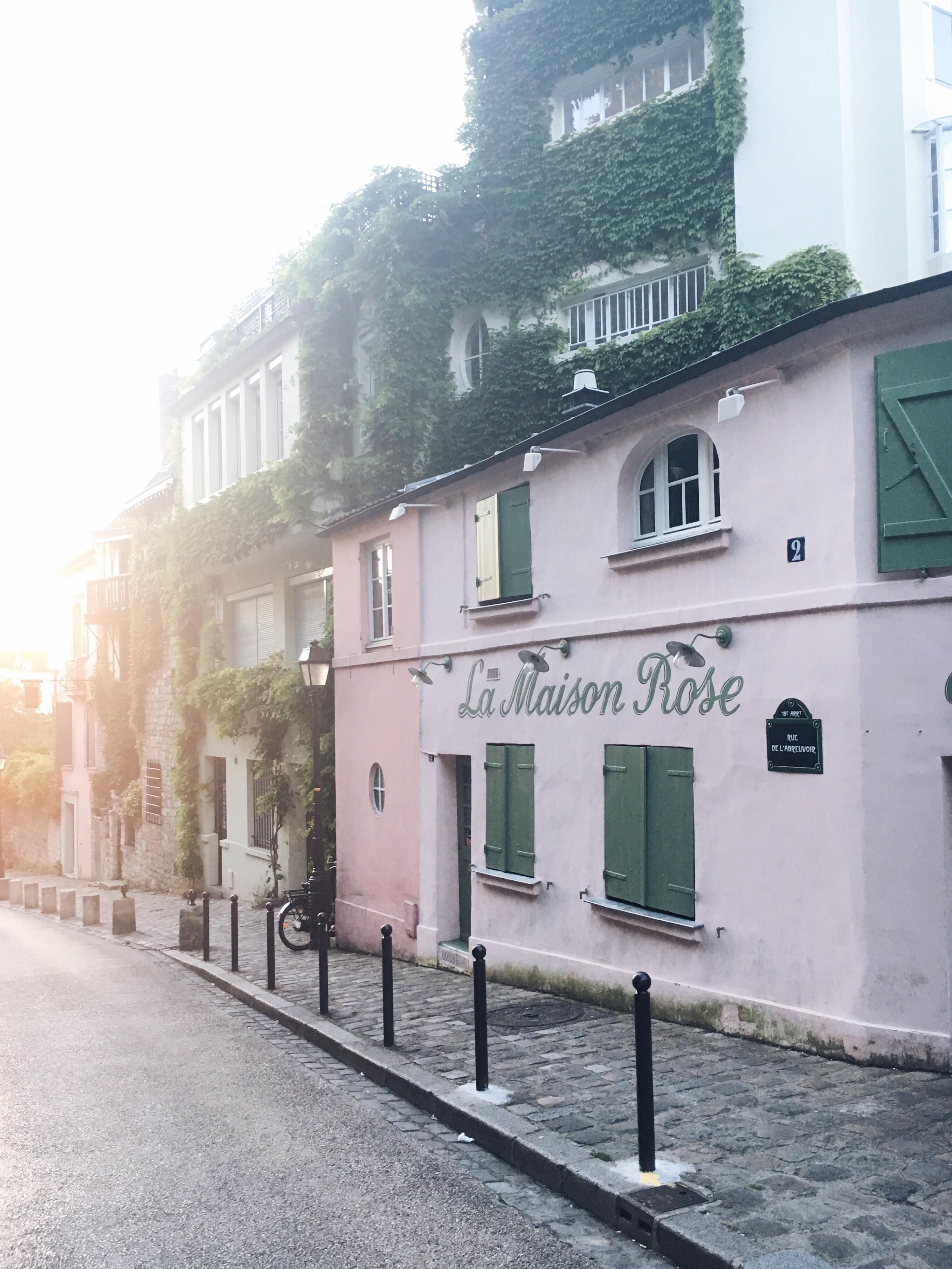 La Maison Rose Montmartre Instagram clichés