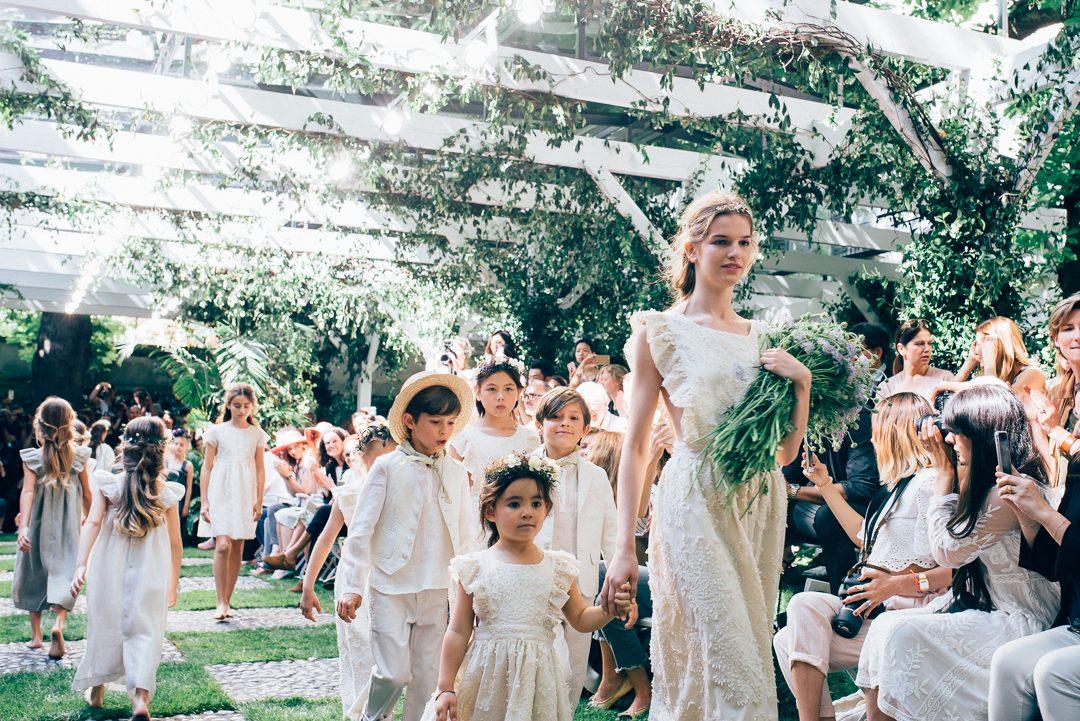 Bon point SS17 fashion show Paris children's wear