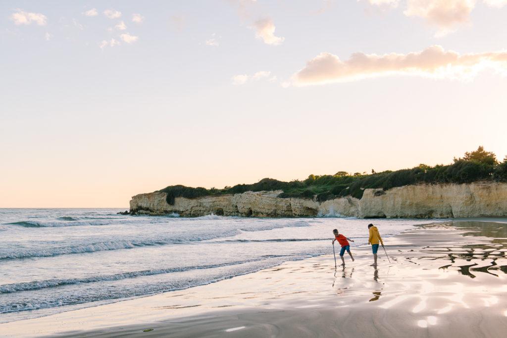The beach at Marea, Sicily, The Thinking Traveler