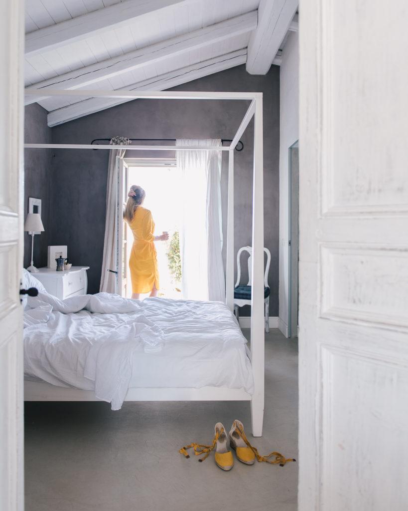 master bedroom, Villa Marea, Sicily, The Thinking Traveler