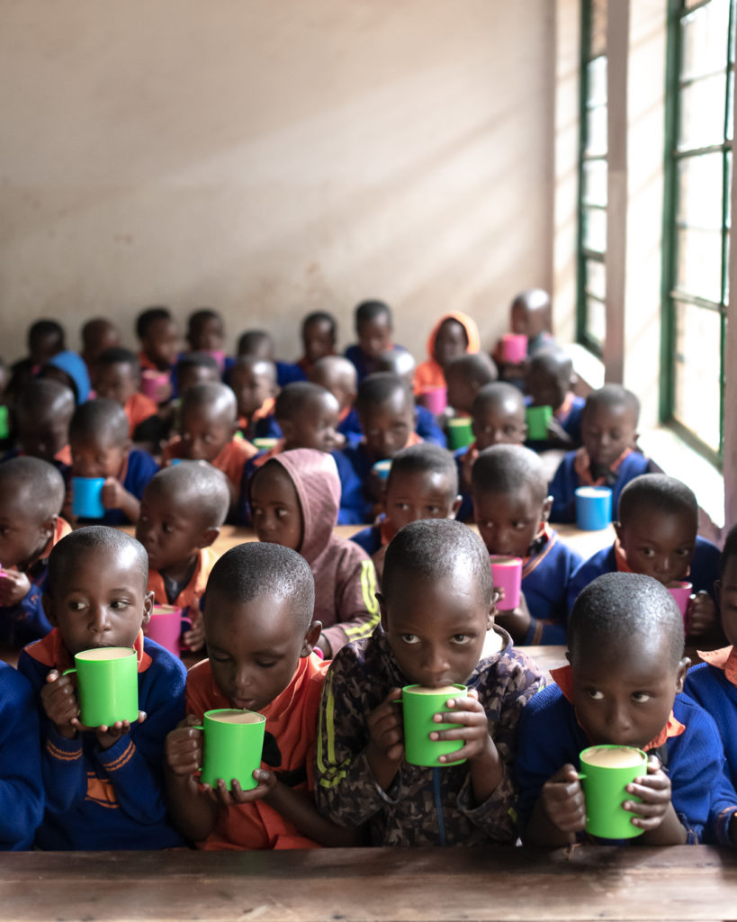 sorwathe tea estate schools porridge project