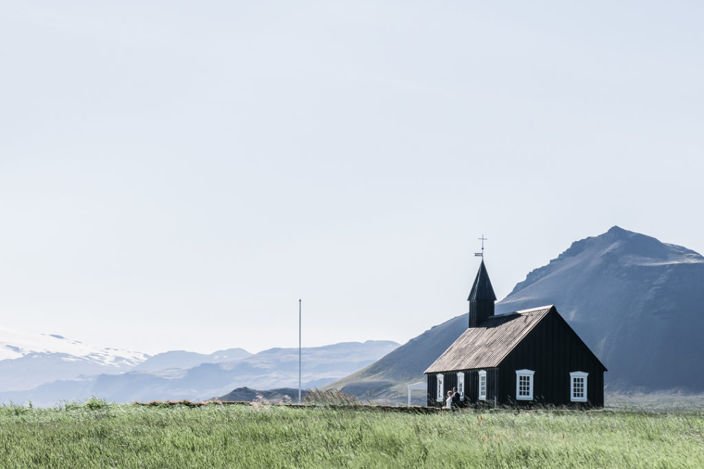 the black church at Budir